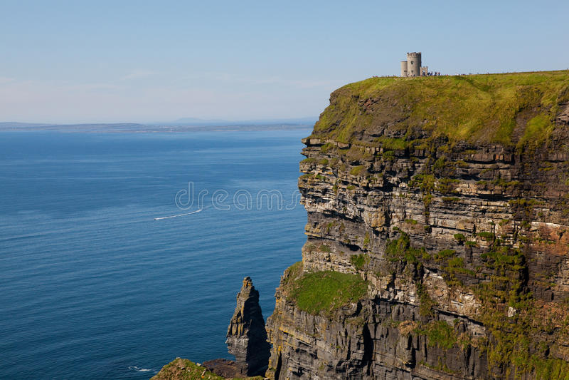 clare νομός Ιρλανδία απότομων β&rh στοκ εικόνα