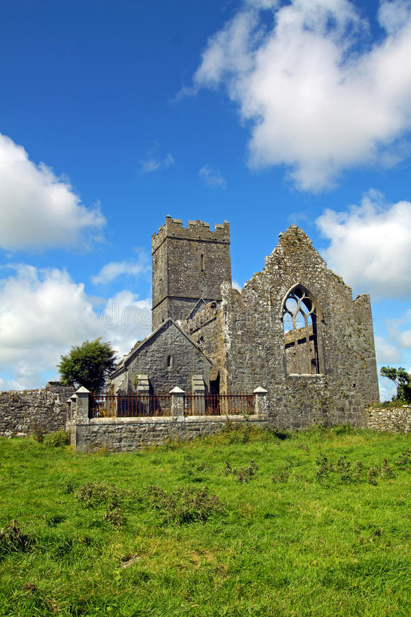 Clare Abbey Co. Clare Ireland Stock Image