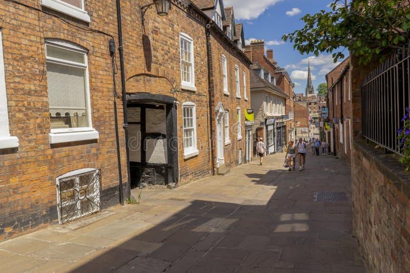 Claremont wzgórze w Shrewsbury Shropshire obrazy royalty free