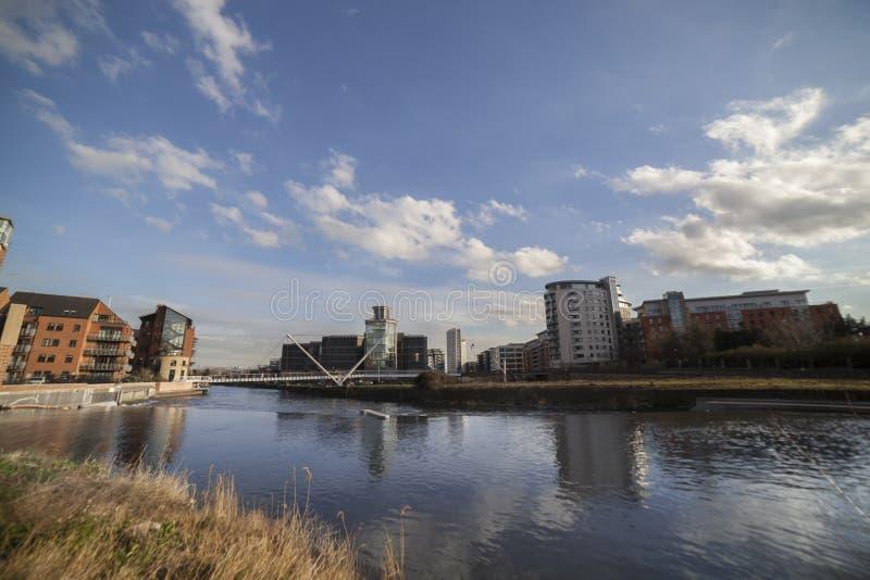Clarence Dock en Leeds imagen de archivo libre de regalías