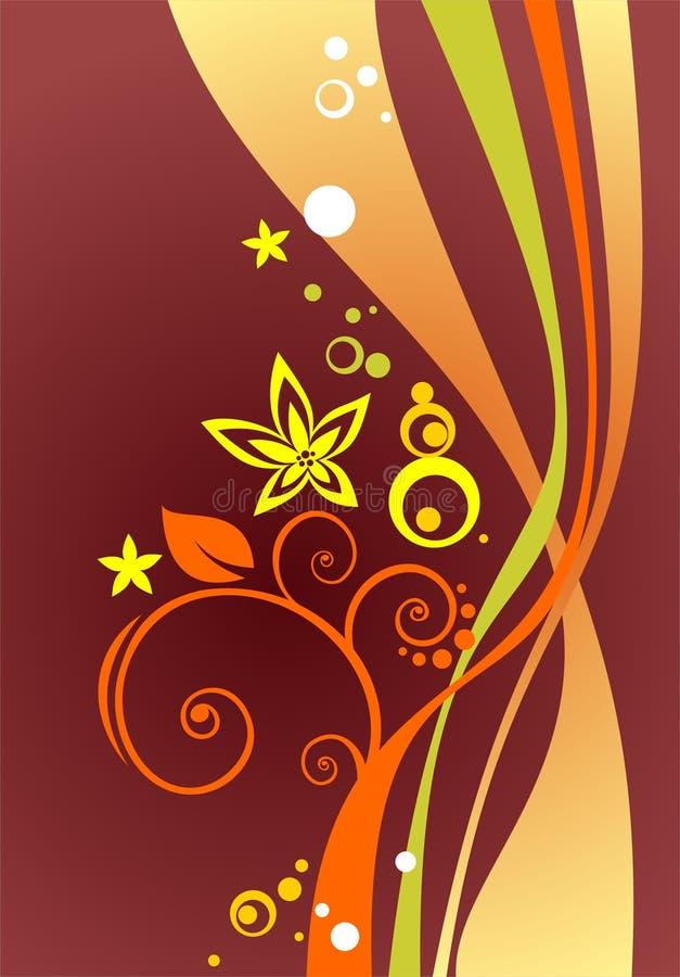 Claret Curves Background Stock Image