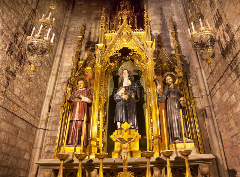 Claret för Sts Joaquima Francis Assisi Anthoy royaltyfri foto