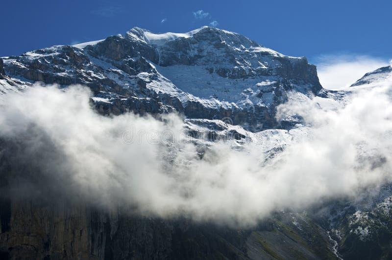Clariden máximo, cumes de Glarus, Suíça fotos de stock