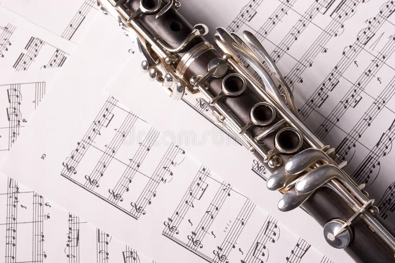 Clarinet images stock