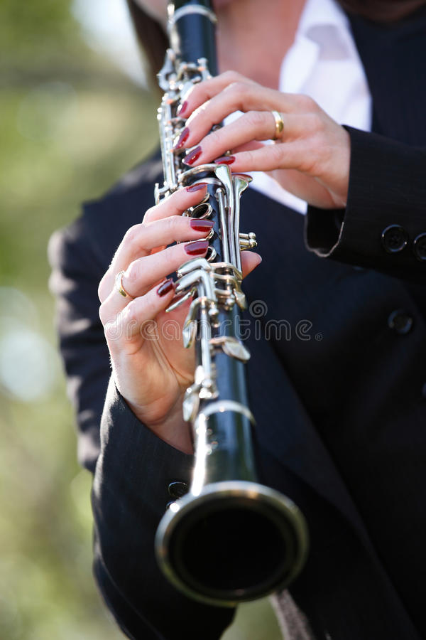 Clarinet fotografia de stock royalty free