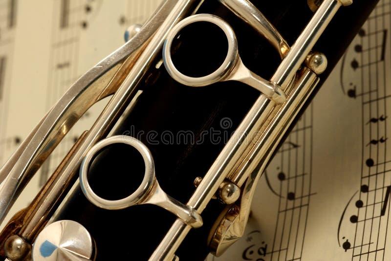 Clarinet stockbild
