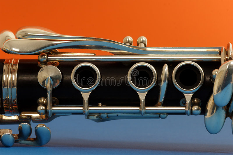 Clarinet lizenzfreie stockfotos