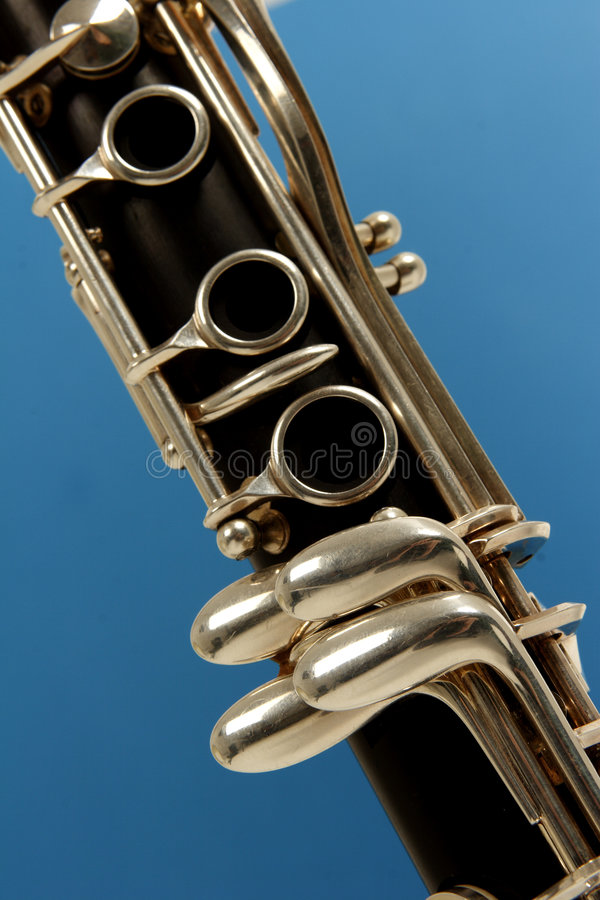 Clarinet stockfotografie