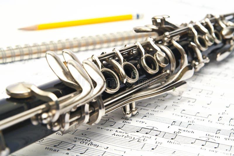 Clarinet foto de stock royalty free