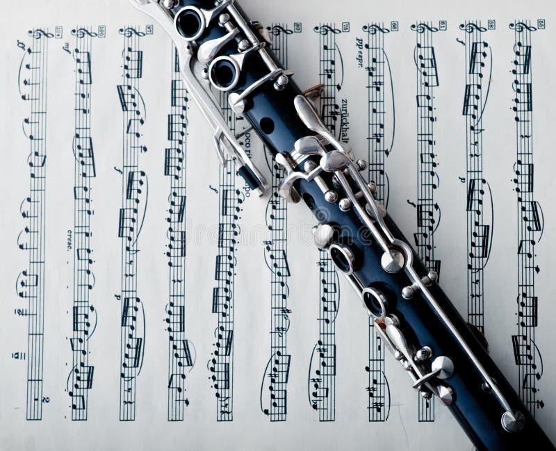 Clarinet imagem de stock royalty free