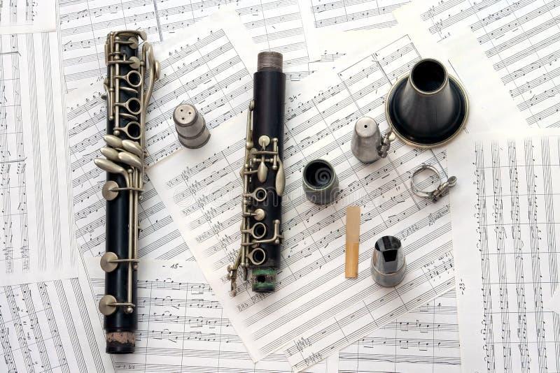 Clarinet foto de stock