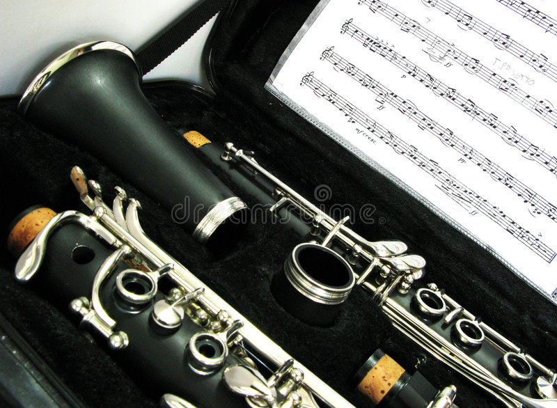 Clarinet fotografia stock