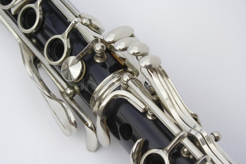 Download Clarinet stock photo. Image of keys, clarinet, music, silver - 7156346