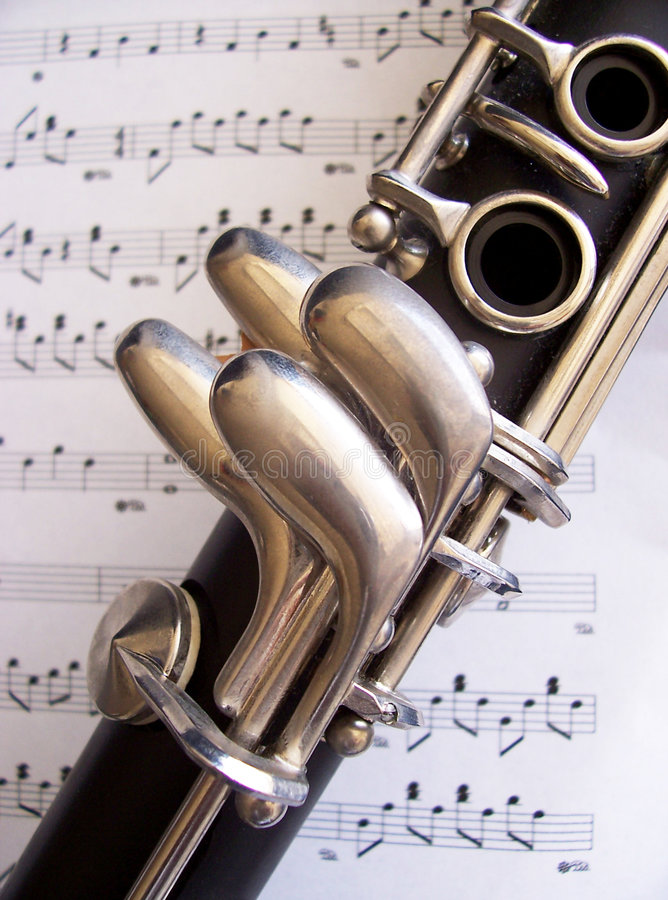Clarinet imagens de stock royalty free