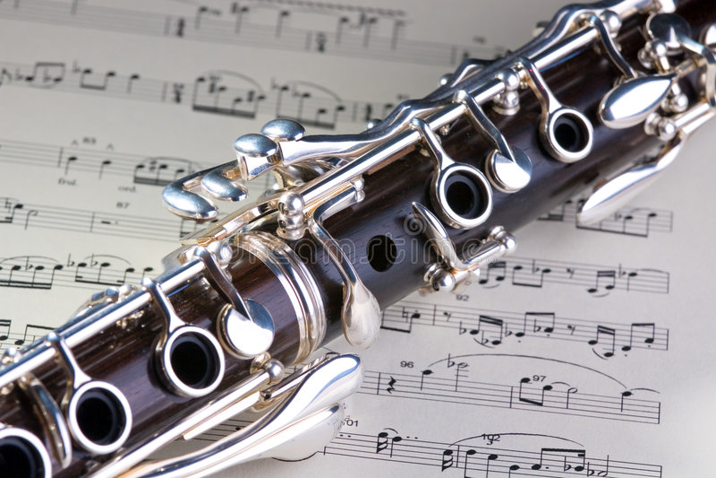 Clarinet fotografie stock libere da diritti