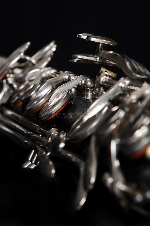 Clarinet bas 001 photographie stock
