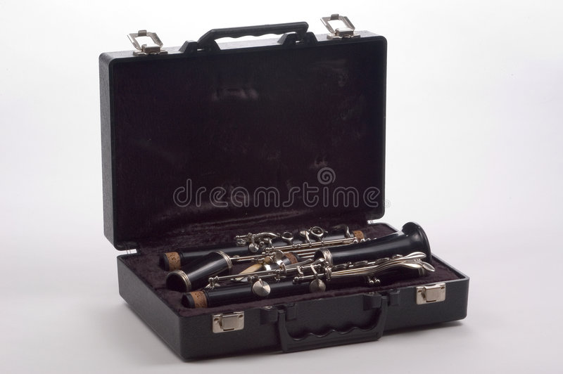 Download Clarinet In Case Stock Image - Image: 18271
