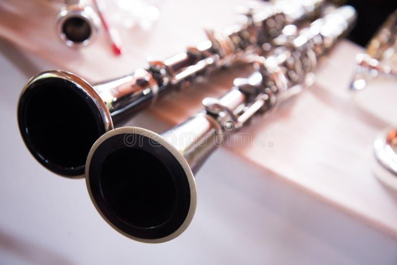 Clarinet royalty free stock photo