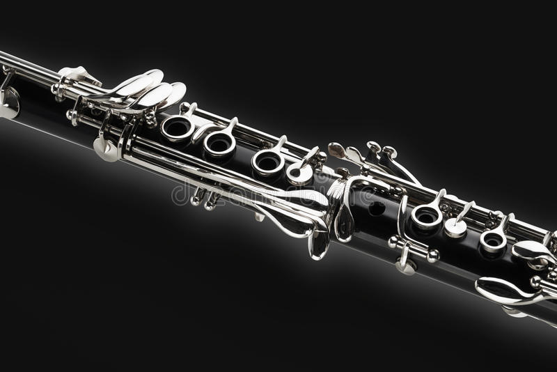 Clarinete foto de stock royalty free