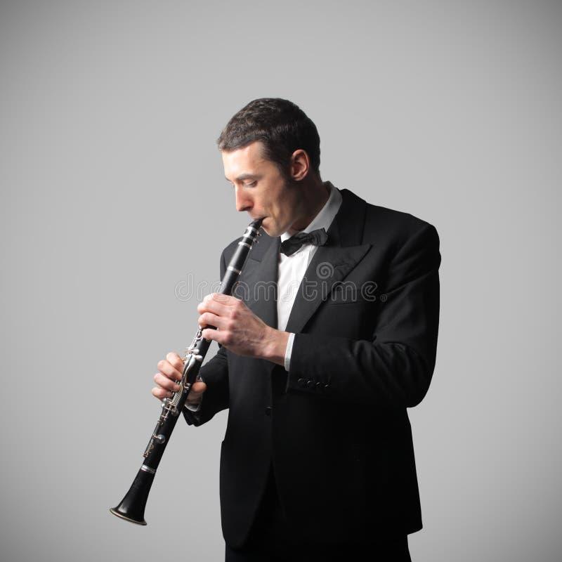 Clarinettist stockbilder