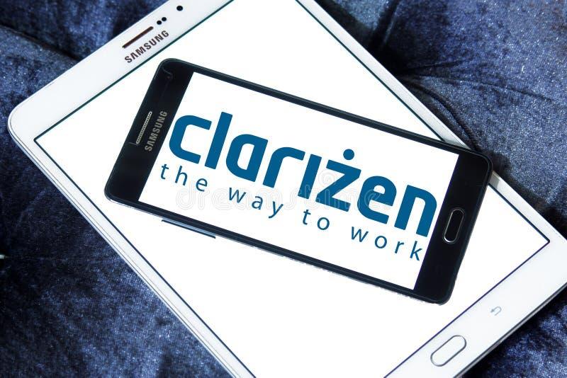 Clarizen företagslogo arkivbilder