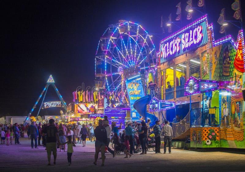 Clark County Fair och rodeon arkivbild