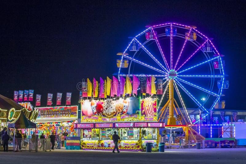 Clark County Fair y rodeo imagen de archivo libre de regalías