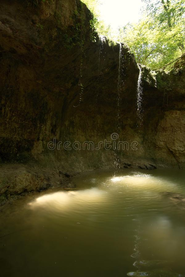 Clark Creek Natural Area photographie stock libre de droits