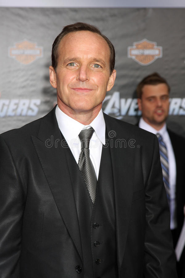 Download Clark Gregg editorial photography. Image of theater, capitan - 24871322