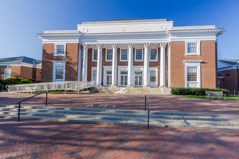 Clark Hall przy UVA fotografia stock