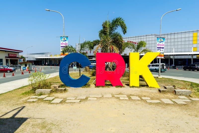 CLARK, PHILIPPINEN - Flughafen Sinage Mrz 25,2018 bei Clark International Airport stockfotos