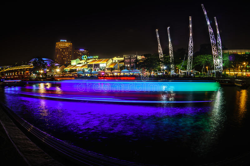 Clarke Quay photographie stock