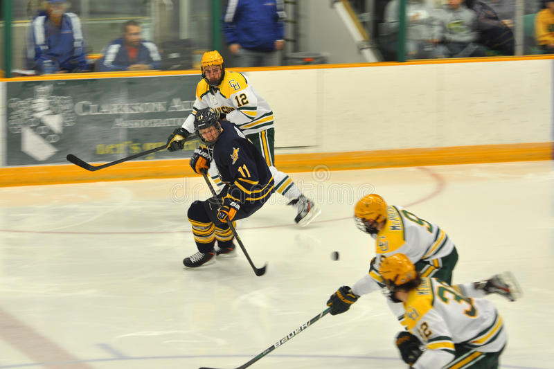 Download Clarkson Players In NCAA Hockey Game Editorial Stock Photo - Image: 27981433