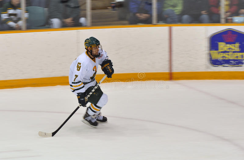 Download Clarkson University Player In NCAA Hockey Game Editorial Photography - Image: 18757577