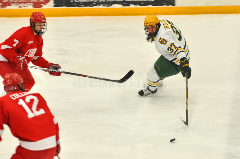 Download Clarkson Will Frederick In NCAA Hockey Game Editorial Photo - Image: 23564306