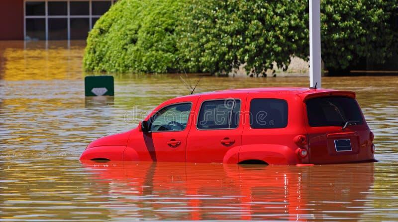 Clarksville Tn que inunda 2010 foto de stock royalty free