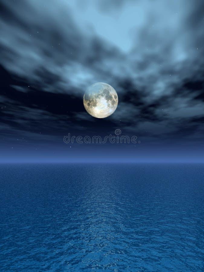 Claro de luna libre illustration