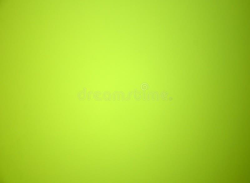 Claro - fundo borrado verde da cor sólida Textura, inclinação, vignetting, close-up imagens de stock