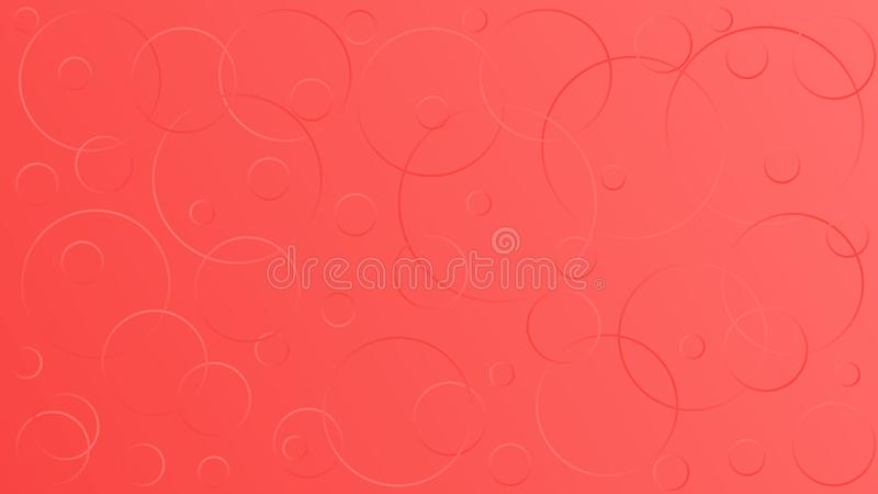 Claro - ilustra??o cor-de-rosa do vetor, que consiste em c?rculos de tamanhos diferentes ilustração stock