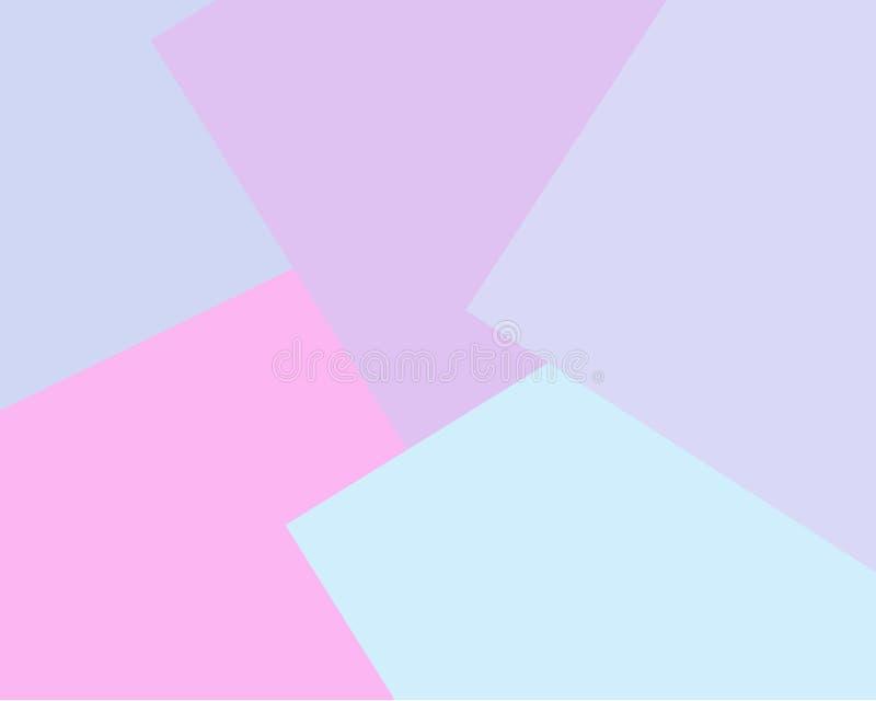 Claro - o vetor cor-de-rosa, cinzento, lilás borrou o fundo retangular Fundo geom?trico no estilo quadrado com inclina??o ilustração stock