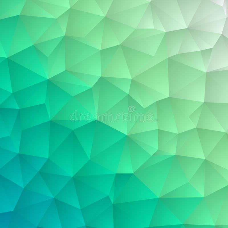 Claro - textura de mosaico azul do hex?gono do vetor Ilustra??o abstrata colorida com inclina??o Estilo brandnew para seu projeto ilustração stock