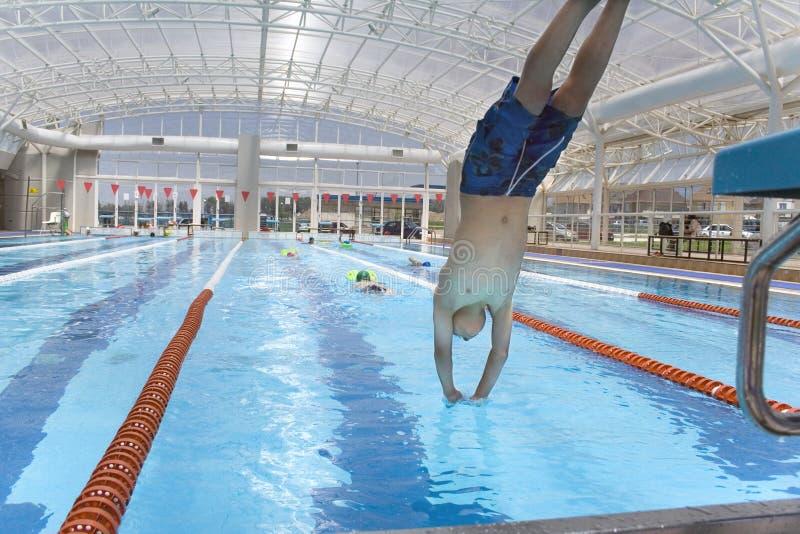 Clase 1 de la natación imagen de archivo libre de regalías