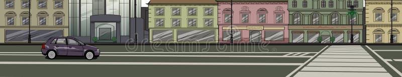 Clase De Calle De La Ciudad Grande Imagen de archivo libre de regalías
