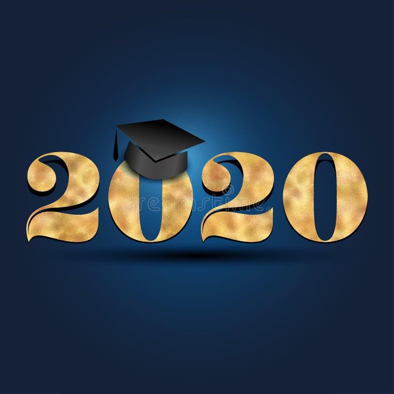 Clase de 2020 enhorabuena graduada