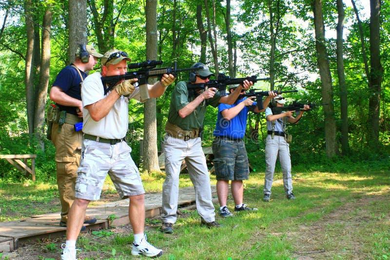 Clase de las armas de fuego imágenes de archivo libres de regalías
