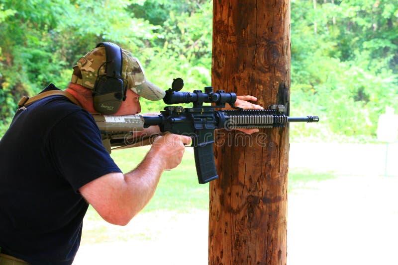 Clase de las armas de fuego foto de archivo