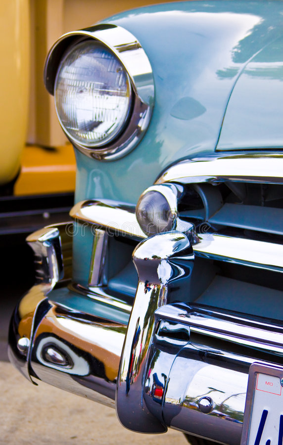 Download Clasic Car front end stock photo. Image of auto, greaser - 7200890