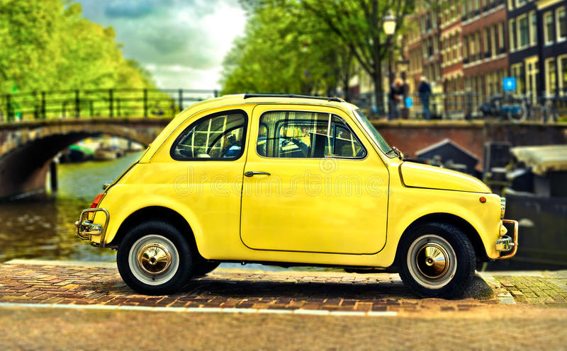 FIAT 500 stock photos