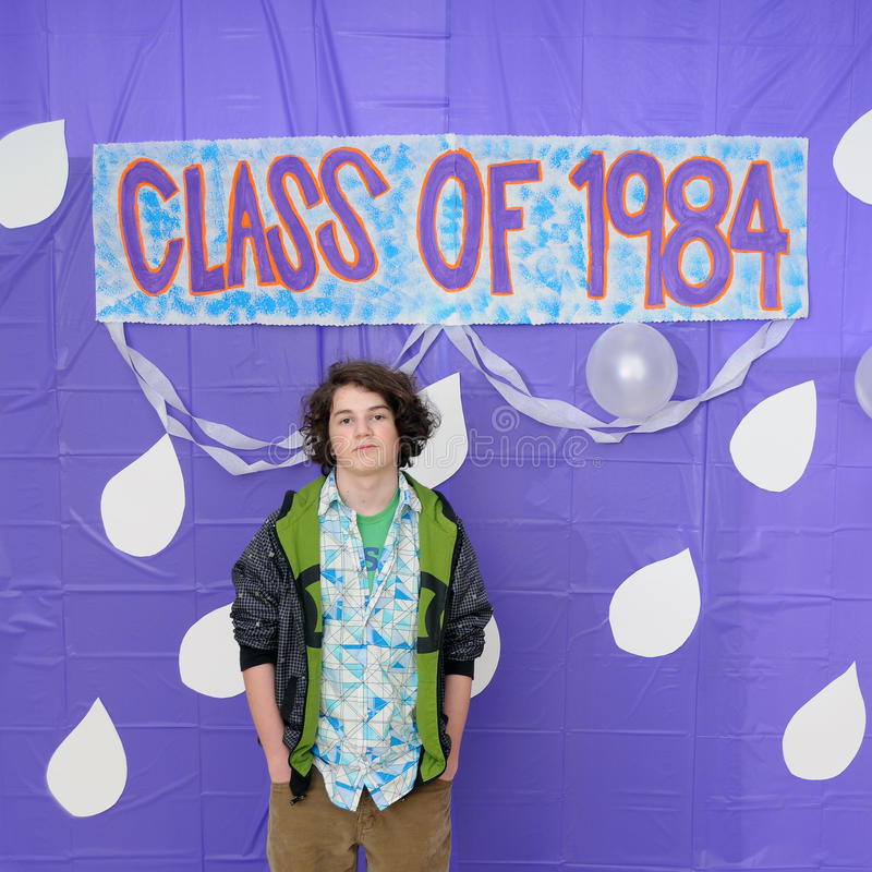 Class of 1984 Graduation royalty free stock photo