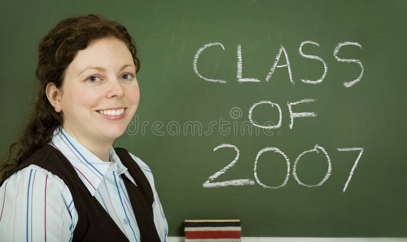 Class of 2007 stock photos